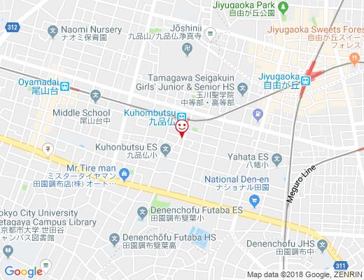 まいばすけっと奥沢8丁目店の地図 - クリックで大きく表示します