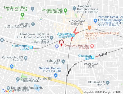 上海風味中国料理 南国飯店 / ナンゴクハンテンの地図 - クリックで大きく表示します