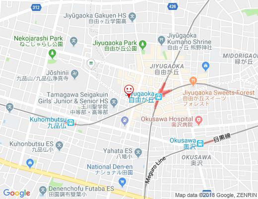 ナポリハウスの地図 - クリックで大きく表示します