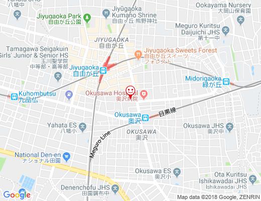 奥沢神社 / おくさわじんじゃの地図 - クリックで大きく表示します