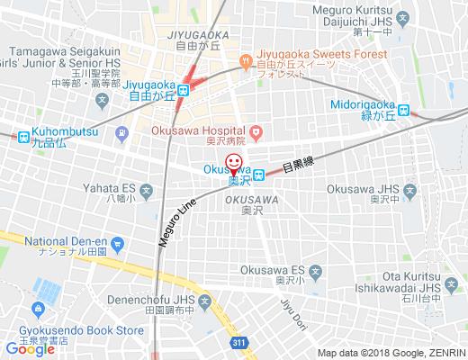 日本酒と和風中華 OZ / オズの地図 - クリックで大きく表示します