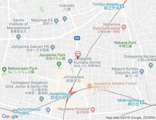 RESTAURANT FOREST JIYUGAOKA / レストラン フォレストの地図 - クリックで大きく表示します