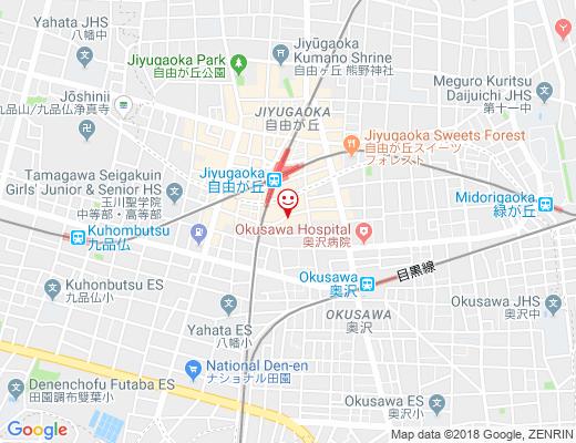 Re;apartment / リ・アパートメントの地図 - クリックで大きく表示します
