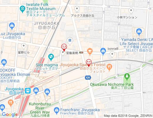RICONO CLOTHE 本店 / リコノクローシェの地図 - クリックで大きく表示します
