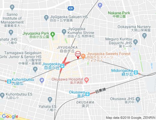 RICONO CLOTHE 自由通り店 / リコノクローシェの地図 - クリックで大きく表示します