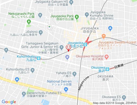 Salon de perle YURI / サロン ド ペルル ユリの地図 - クリックで大きく表示します