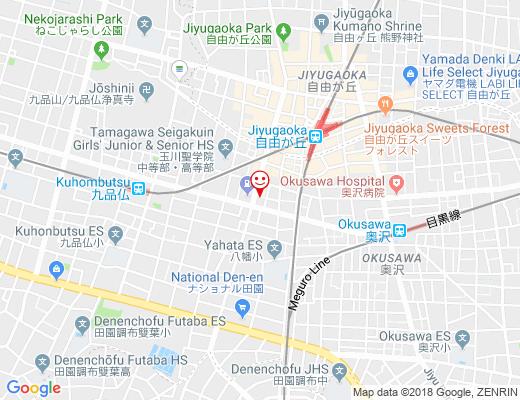 Salon de ViVi / サロン・ド・ヴィヴィの地図 - クリックで大きく表示します