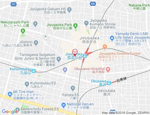 成城石井 自由が丘店 / せいじょういしいの地図 - クリックで大きく表示します