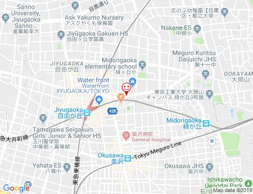 整体院 京四郎 -KYOSIRO- / きょうしろうの地図 - クリックで大きく表示します