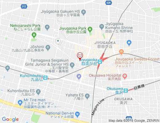 SODA CAFE / ソーダカフェの地図 - クリックで大きく表示します