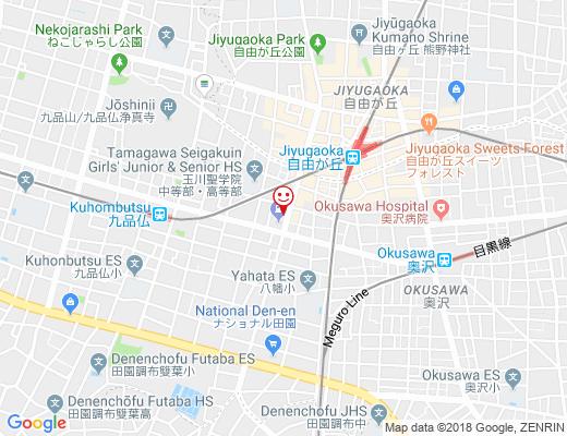餃子老店 泰興楼 / タイコウロウの地図 - クリックで大きく表示します