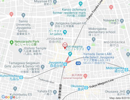 田ノ実 自由が丘店 / Tanomi タノミの地図 - クリックで大きく表示します