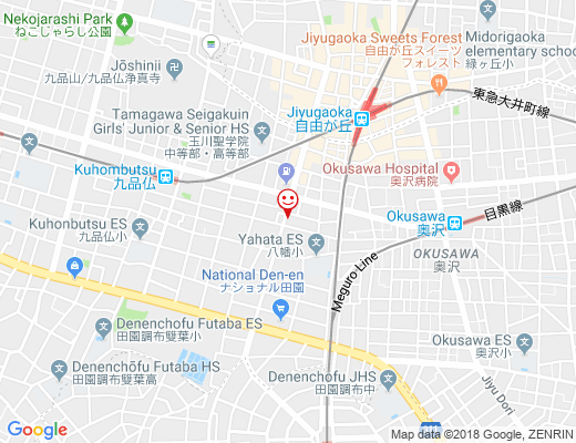 THE TOKYO FRUITS CAFE / ザ・東京フルーツカフェの地図 - クリックで大きく表示します