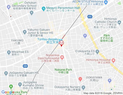 Toshi Au Coeur du Pain / トシオークーデュパンの地図 - クリックで大きく表示します