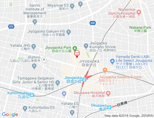 YOGA STUDIO GIFT / ヨガスタジオ ギフトの地図 - クリックで大きく表示します