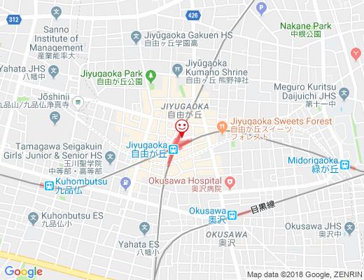 和バル よしのいえの地図 - クリックで大きく表示します