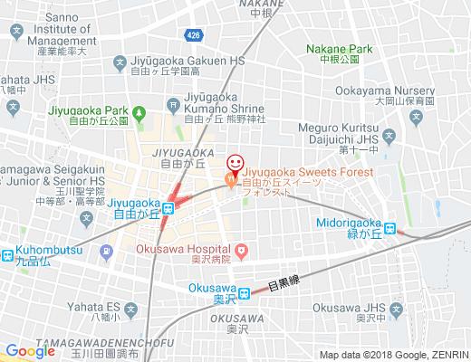 薬膳・健美麺 ZEN ROOM / ゼンルームの地図 - クリックで大きく表示します